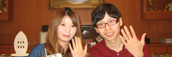 大好きなシンデレラの結婚指輪で幸せいっぱい:ディズニーシンデレラ2013